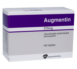 Augmentin 375 mg (10 pills)