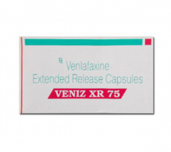 Veniz XR 75 mg (10 pills)