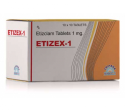 Etizex 1 mg (10 pills)