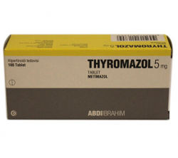 Thyromazol 5 mg (100 pills)
