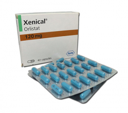 Xenical 120 mg (42 pills)