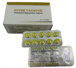 Super Tadapox 40/60 mg (10 pills)