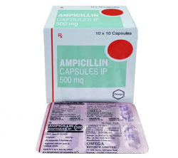 Ampicillin 500 mg (10 pills)