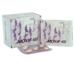 Moxif 400 mg (5 pills)