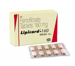 Lipicard 160 mg (10 pills)