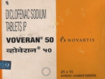 Voveran 50 mg (15 pills)