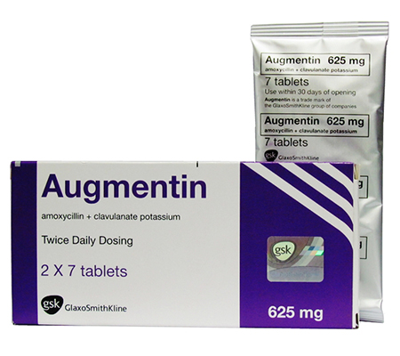 Augmentin 625 mg (10 pills)