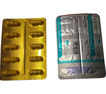 Evoxil 500 mg (10 pills)