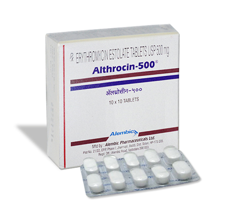 Althrocin 500 mg (10 pills)