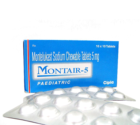 Montair Chewable Tablets 5 mg (10 pills)
